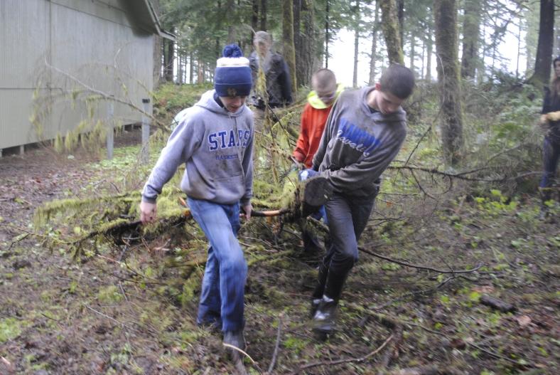 Making great efforts at Camp Howard!