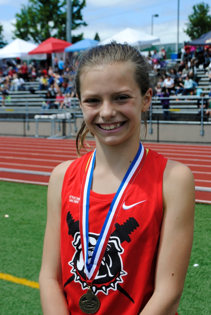 1500 Meter Run Cub Girls Makenna Schumacher