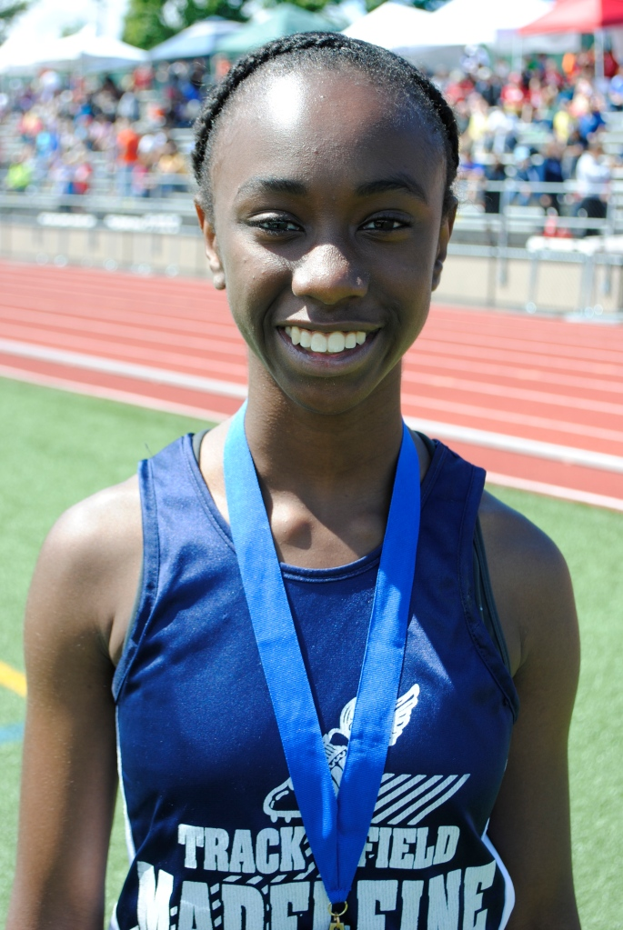 200 Yard Dash Cadet Girls Malika Washington