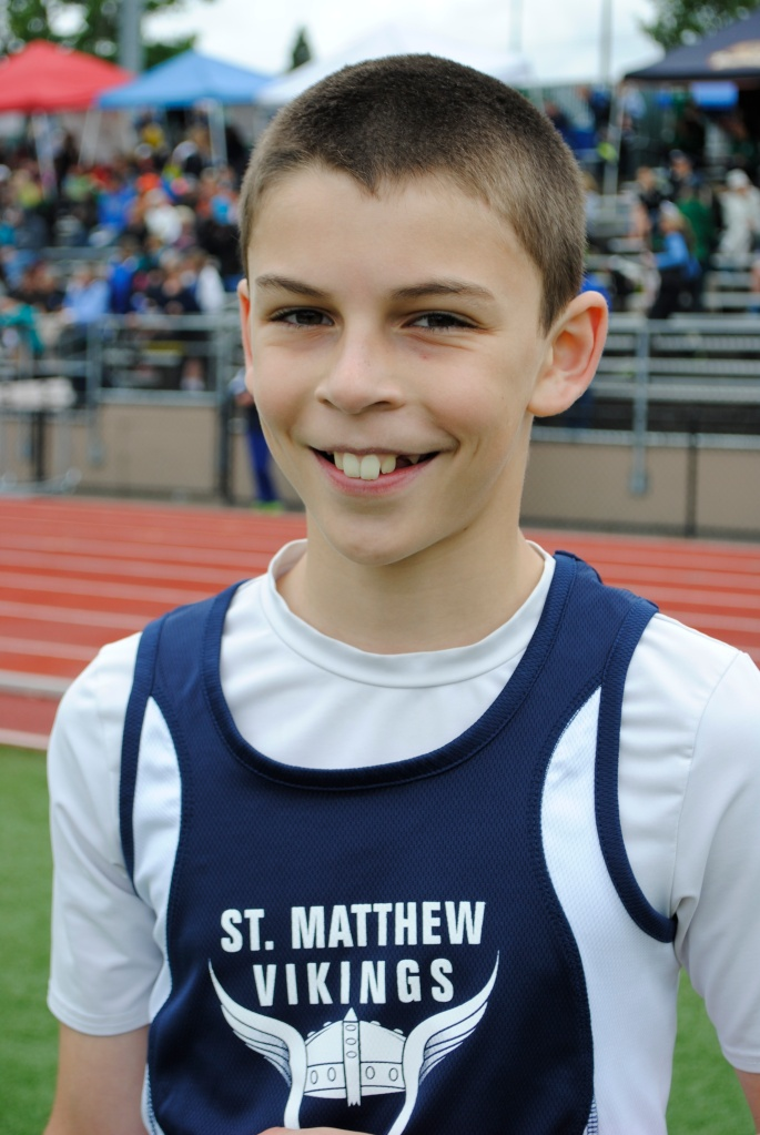 High Jump Cub Boys Aidan Maloney