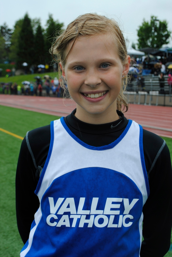 High Jump Cub girls Kate MacNaughton