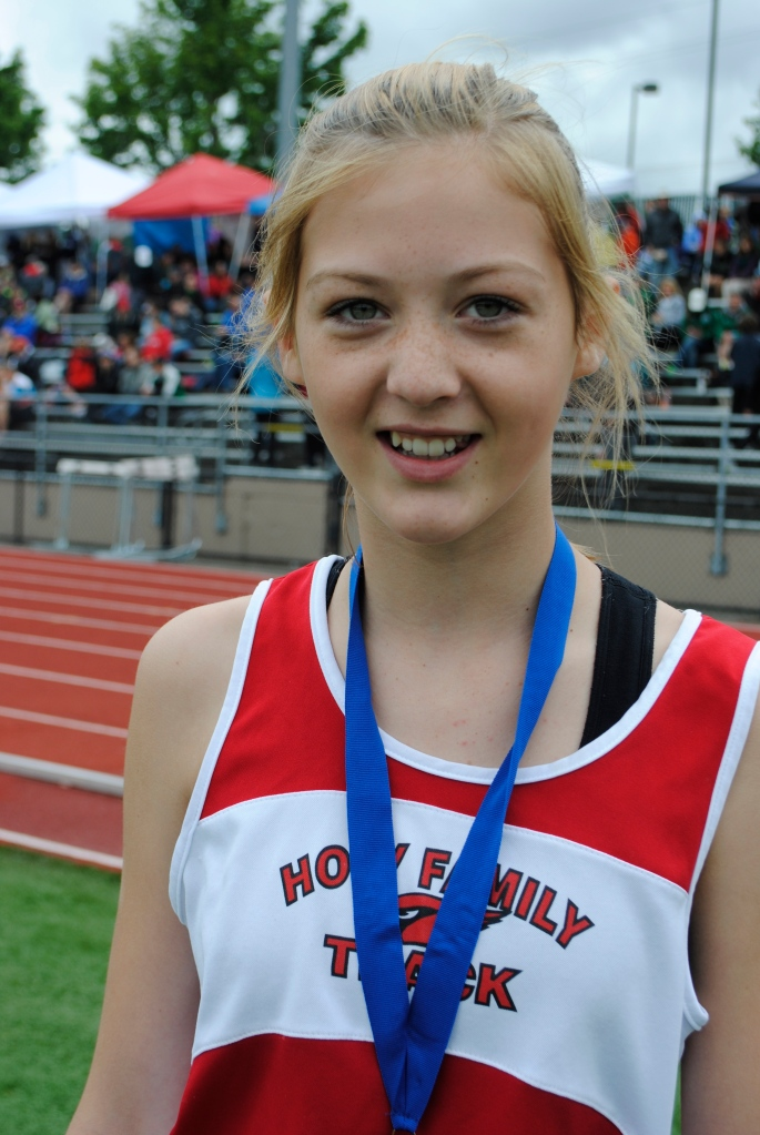 Long Jump Cadet Girls Audrey Bright