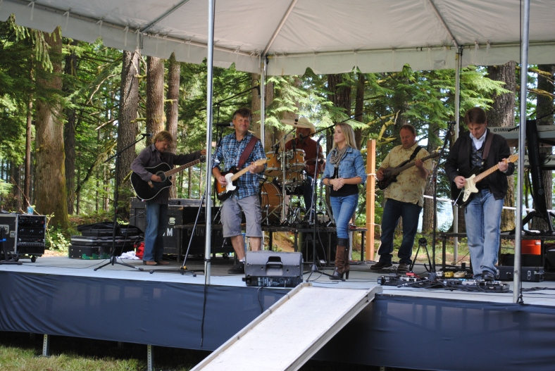 Countrified playing at Camp Howard