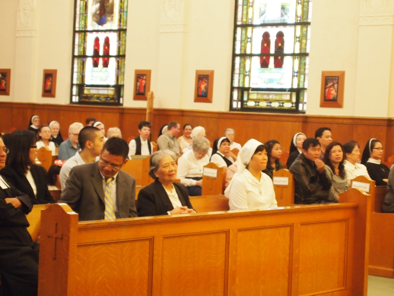 Sister Anna Nguyen - a brand new Novice with the Sisters of St. Mary of Oregon