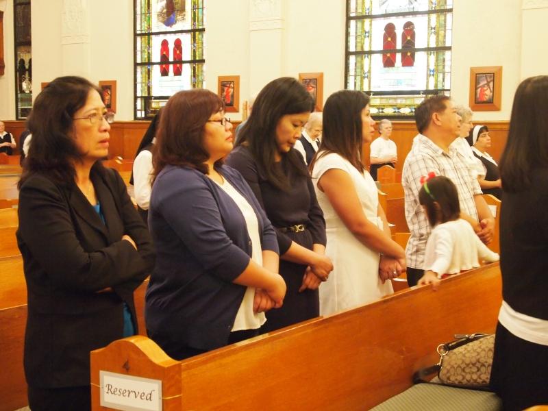 Family of Sister Anna Nguyen