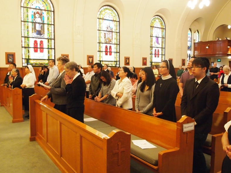 Family and Friends of Sr. Anna Nguyen