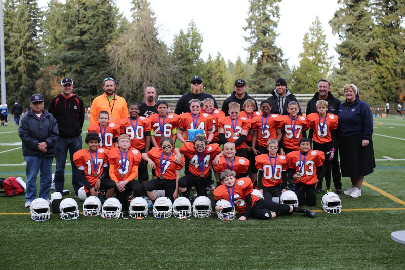 Third and Fourth grade Championship Region 4 Falcons from Clackamas County