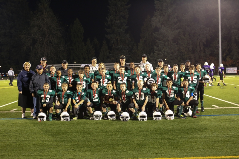 Region 13 Spartans from Holy Cross, Madeleine and Holy Redeemer Schools in North Portland.