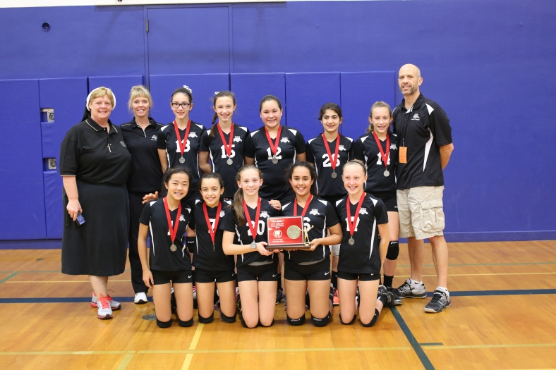 Sixth Grade CYO Volleyball Second Place St. Pius X