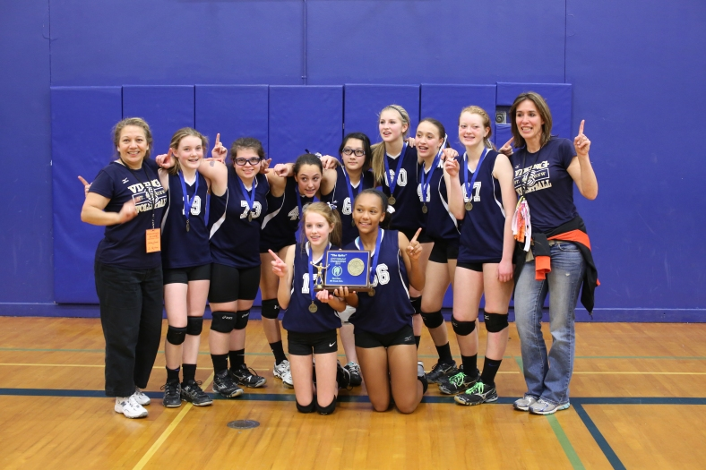 Eighth Grade CYO Volleyball Champions St. Matthews School