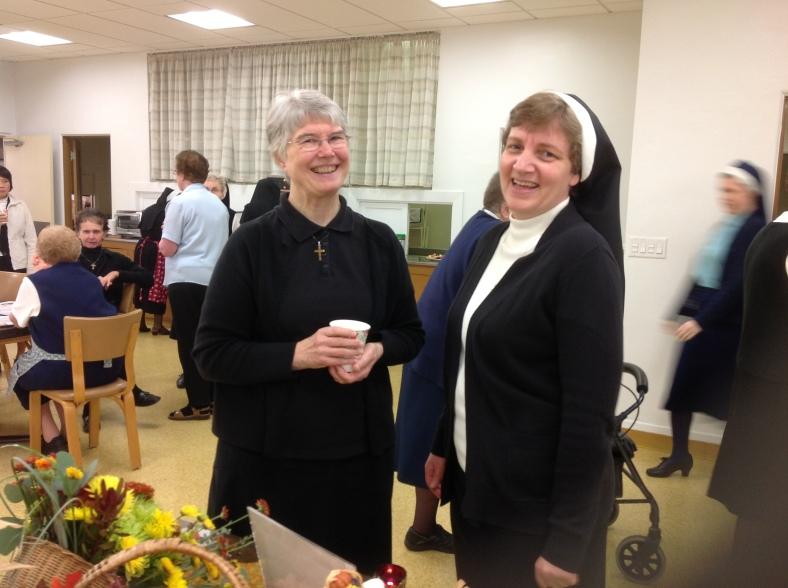 Sister Josephine Pelster and Sr. Adele Marie Altenhofen