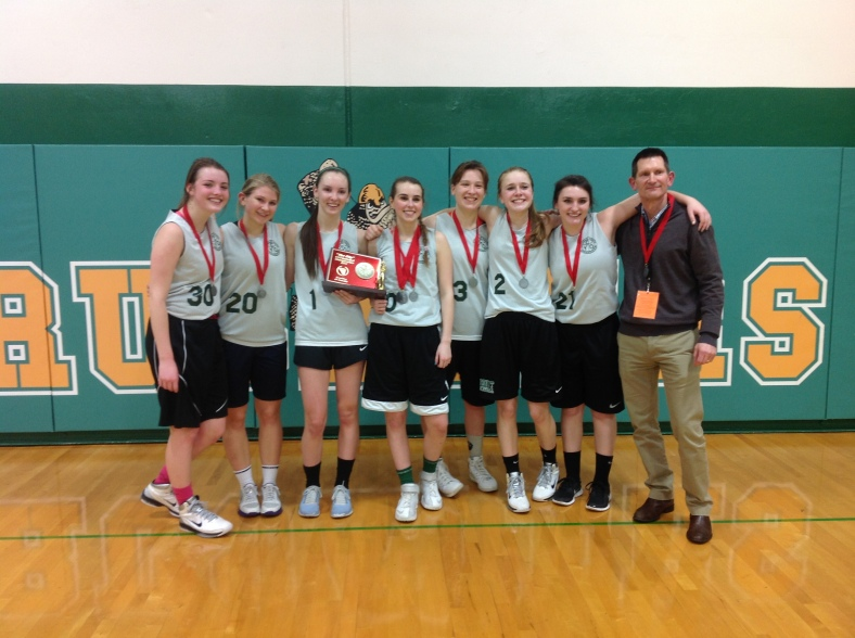 CYO Championships 2nd place Girls team.