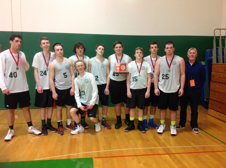 Central Catholic Second Place CYO Championships