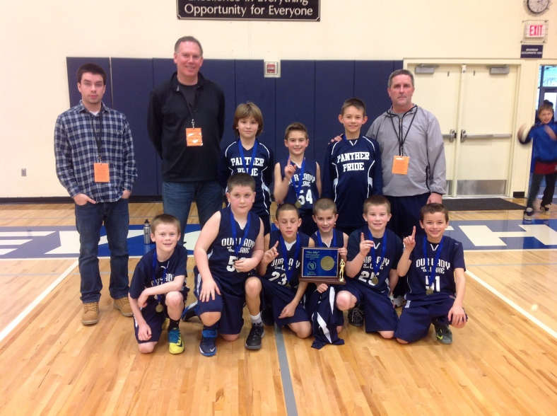 1. Our Lady of the Lake 3rd Grade Boys