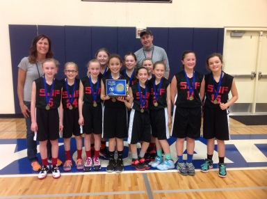 1. St. John Fisher 5th Grade Girls