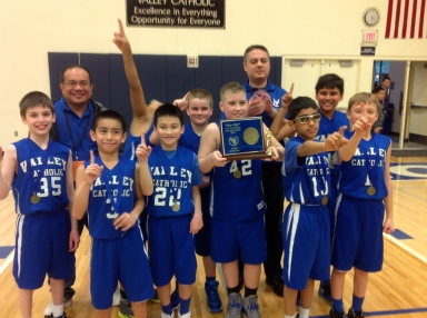 1. Valley Catholic 4th Grade Boys