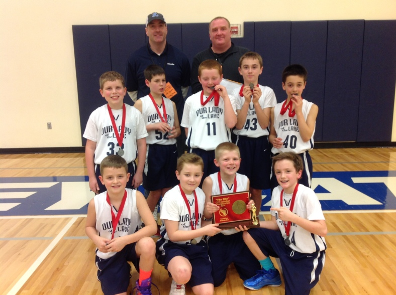 2. Our Lady of the Lake 4th Grade Boys