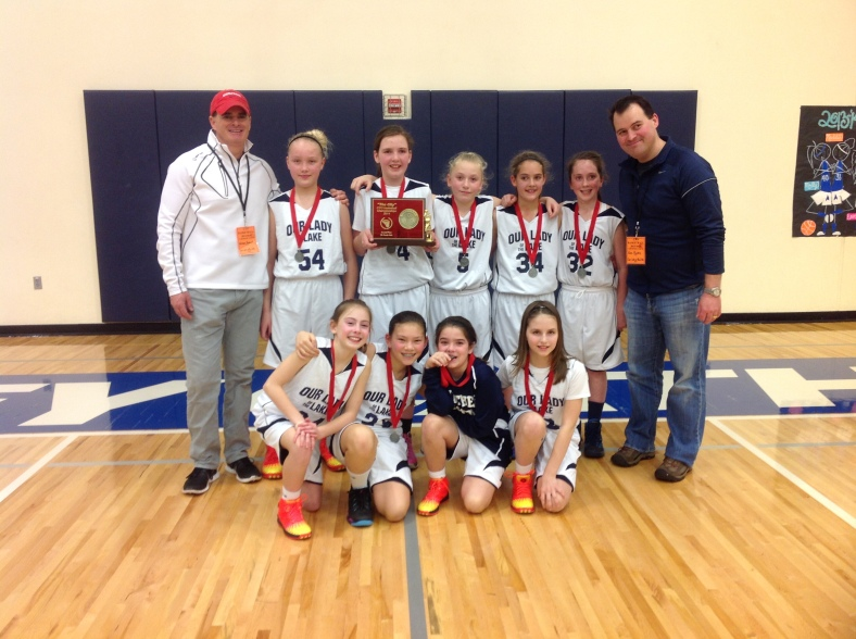 2. Our Lady of the Lake 5th Grade Girls