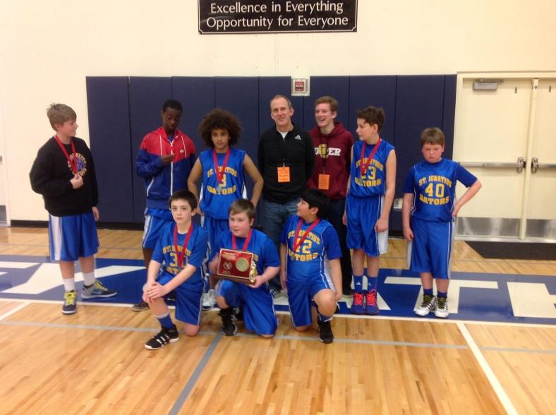2. St. Ignatius 5th Grade Boys