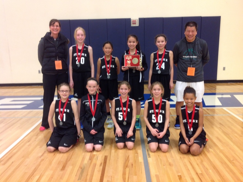 2. St. Pius X 4th Grade Girls