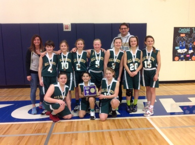 All Saints place third in the CYO City Championships for 6th grade girls