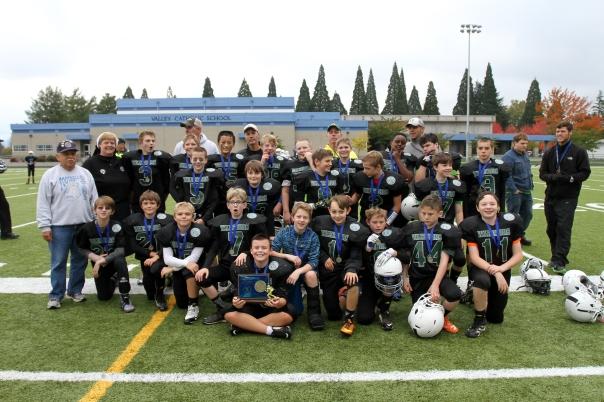"CYO West ""Knights"" win the 7th Grade CYO Football Championship 2014"