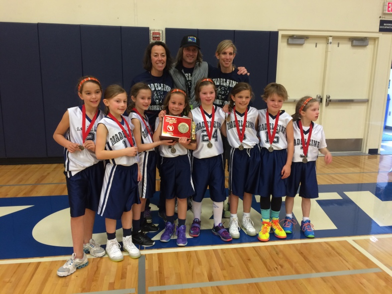 CYO Third Grade BXB Championship Second Place Madeleine.