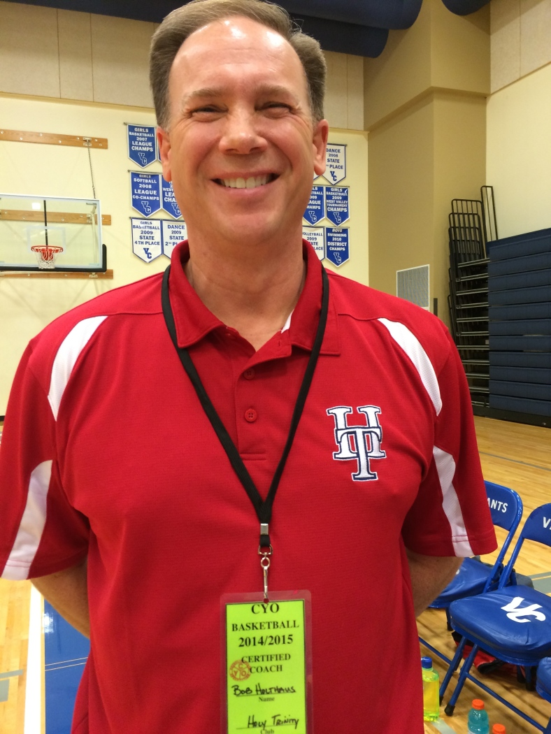 Holy Trinity coach Bob Holthaus