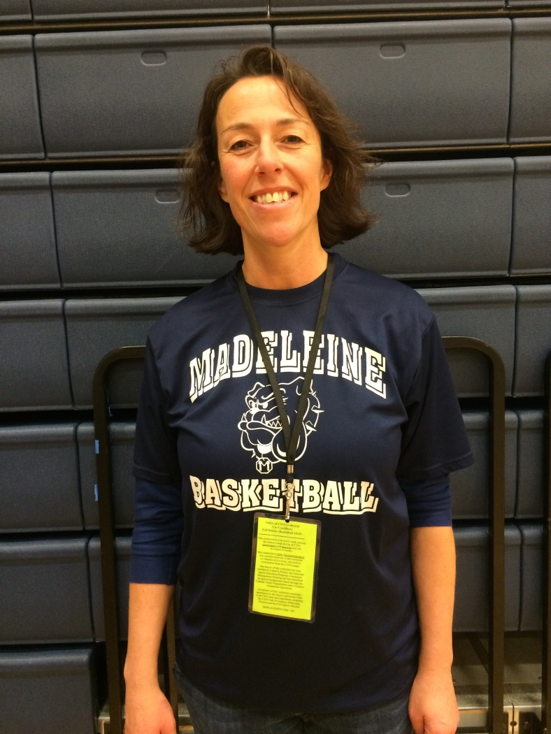 Laurie Merlino is a basketball coach in the CYO program at the Madeleine School in Portland, OR.