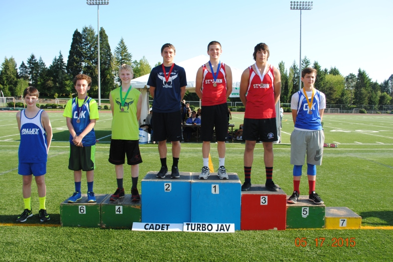 2015 Turbo Javelin winners Cadet Boys at the CYO Meet of Champions