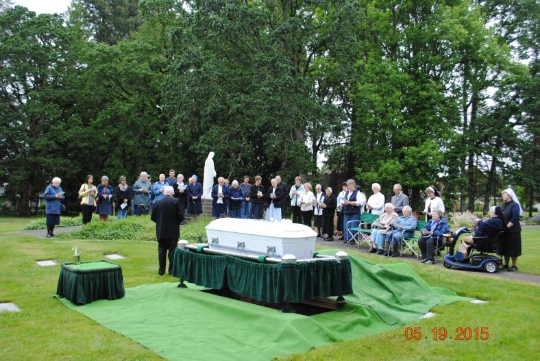 Funeral service for Sr. Geraldine Bernards