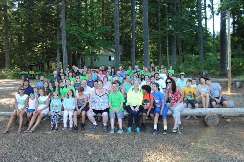 Family Camp Mass 2015 at Camp Howard