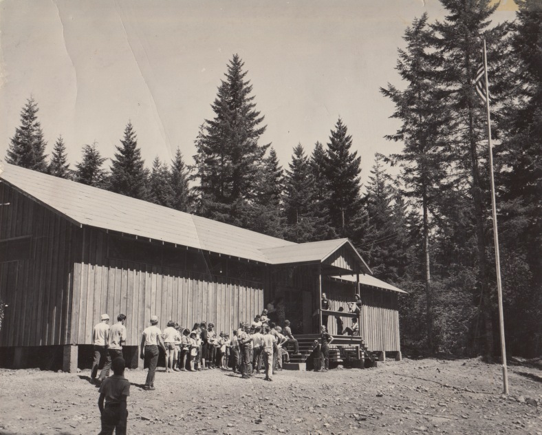 1953 Dining Hall Camp Howard