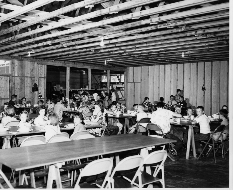 1956c Camp Howard Dining Hall copy