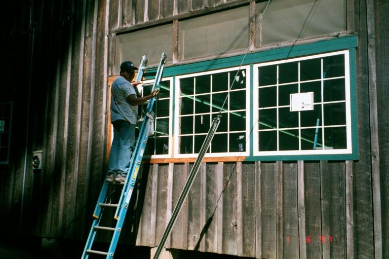 2001 Dining Hall windows