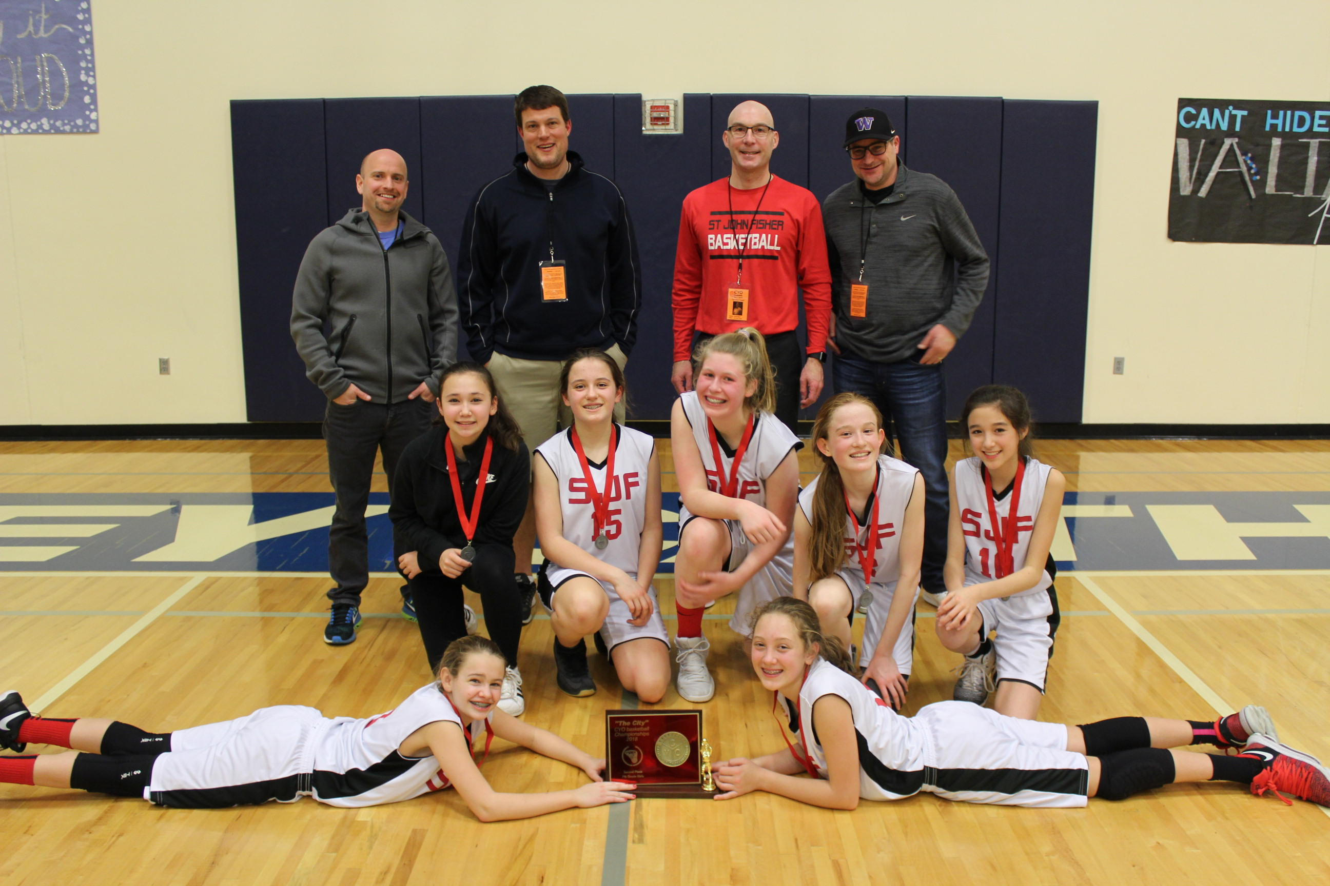 2 St. John Fisher 7th Grade Girls