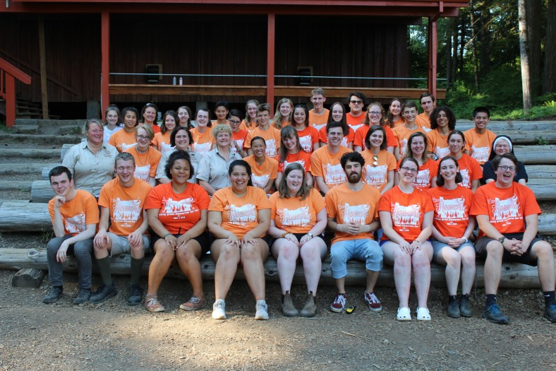 Camp Staff Photo