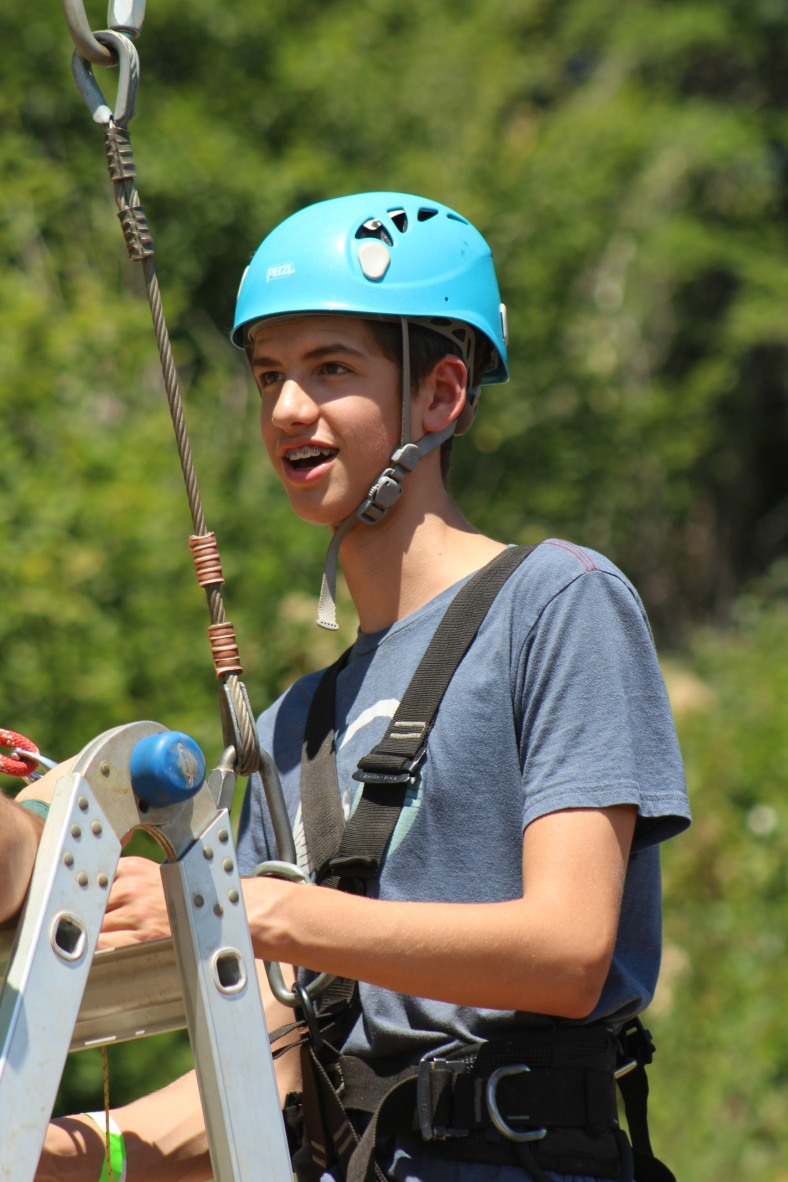 Giant Swing Provides Wow Moments Cyo Camp Howard Harness The Spectacular View Of Bull Run Along With Impressive Location Up Against A Steep Hill Helps Add To Awe Ride